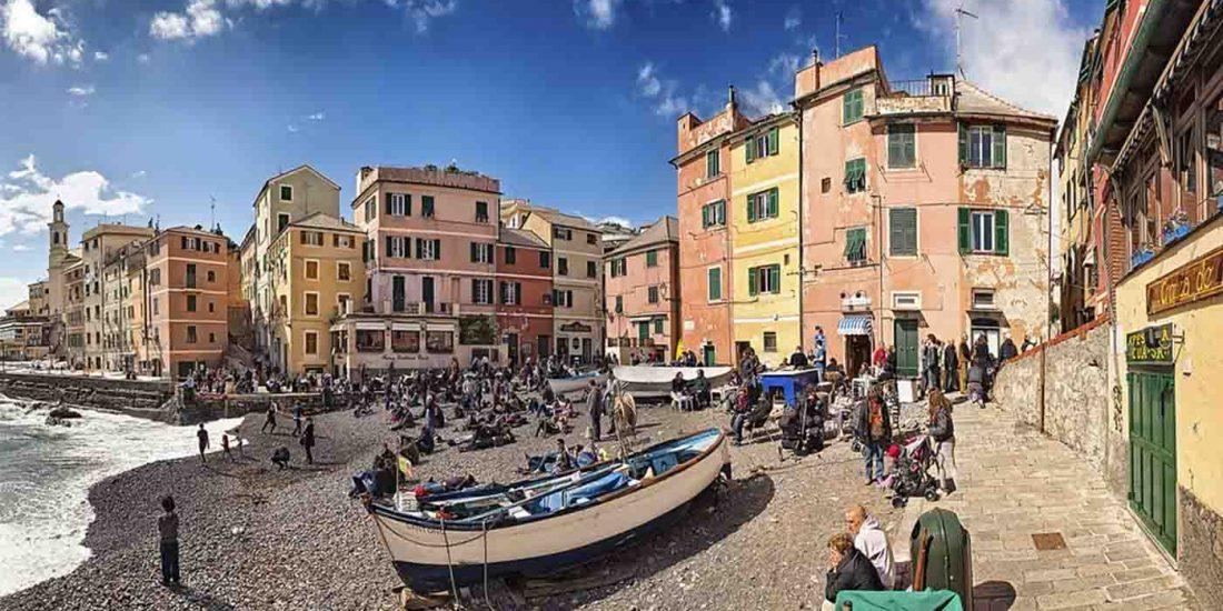 Viajar a Genova Italia